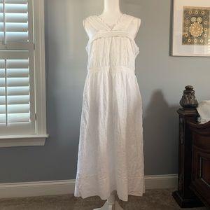 Abercrombie White eyelet dress